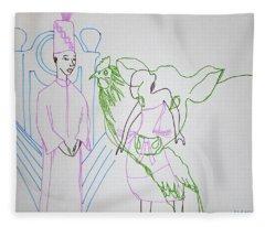 Kintu And Nambi Fleece Blanket