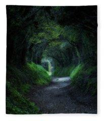 Halnaker - England Fleece Blanket