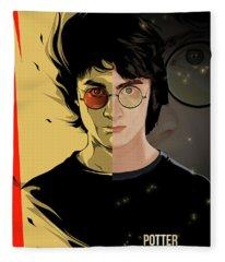 Harry Potter  Fleece Blanket
