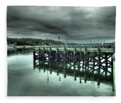 Northport Dock Fleece Blanket