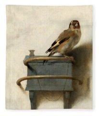 The Goldfinch Fleece Blanket