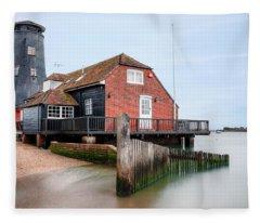Langstone Mill - England Fleece Blanket