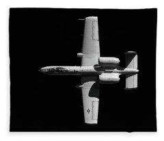 A-10 Blackout Fleece Blanket