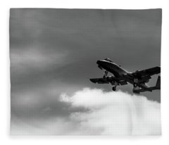 A-10 Slow Pass Fleece Blanket