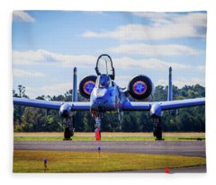 A-10c Thunderbolt II Fleece Blanket
