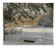 A Beautiful View Fleece Blanket