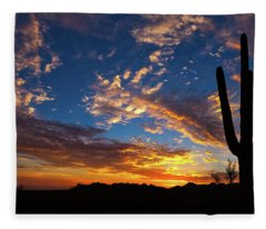 Fleece Blanket featuring the photograph A Blanket Of Many Colors by Rick Furmanek
