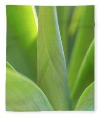 A Bouquet Of Leaves Fleece Blanket