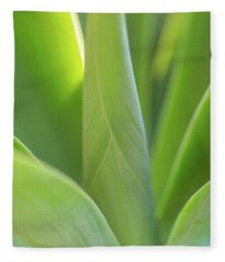 A Bouquet Of Leaves Fleece Blanket