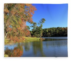 A Calm Peaceful Day Fleece Blanket