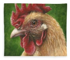A Chicken For Terry Fleece Blanket