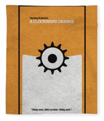 A Clockwork Orange Fleece Blanket