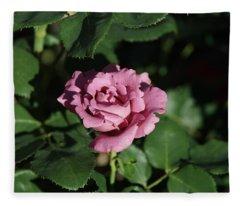 A New Rose Fleece Blanket