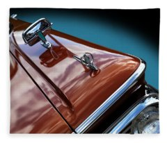 A New Slant On An Old Vehicle - 1959 Edsel Corsair Fleece Blanket