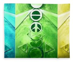 A New World, Order Fleece Blanket