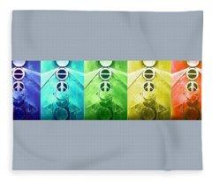 A New World, Order Fleece Blanket