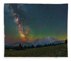 A Perfect Night Fleece Blanket
