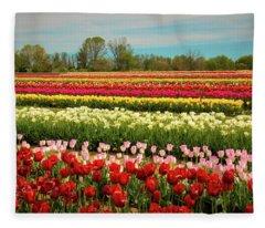 A Piece Of Holland In Jersey Fleece Blanket