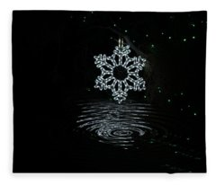 A Ripple Of Christmas Cheer Fleece Blanket