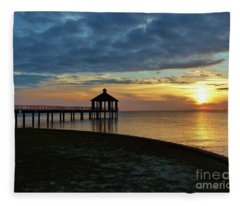 A Sense Of Place Fleece Blanket