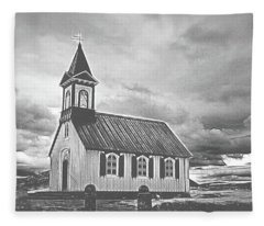 A Simple Church Fleece Blanket