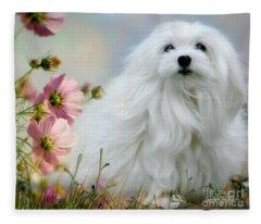 A Soft Summer Breeze Fleece Blanket