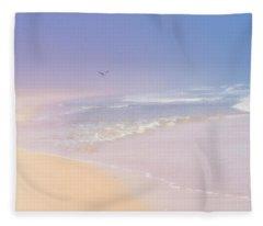 A Surfer's Dream Fleece Blanket