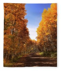 A Walk Down Memory Lane Fleece Blanket