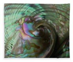 Abalone_shell_9903 Fleece Blanket
