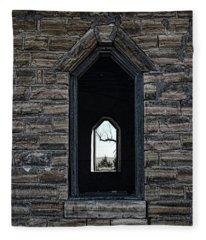 Abandoned Church #3 Fleece Blanket