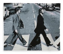 Abbey Road Fleece Blanket