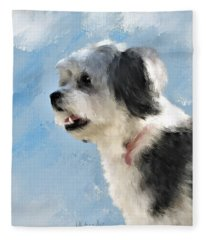 Abby 1 Fleece Blanket