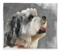 Abby 2 Fleece Blanket