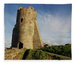 Aberystwyth. The Castle Gatehouse. Fleece Blanket