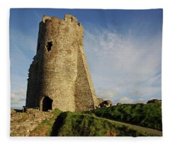 Aberystwyth. The Castle Gatehouse. Fleece Blanket