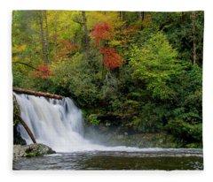 Abrams Falls Fleece Blanket