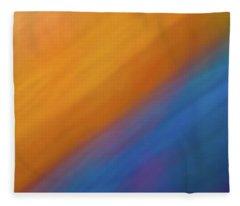 Abstract 44 Fleece Blanket