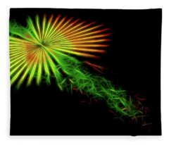 Abstract 47 Fleece Blanket