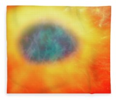 Abstract 50 Fleece Blanket