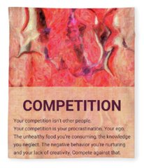 Abstract Art - Competitive Transformations - By Omaste Witkowski Fleece Blanket
