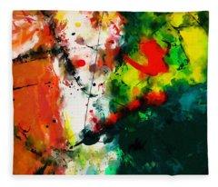 Abstract - Dwp443292860 Fleece Blanket