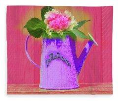 Abstract Floral Art 342 Fleece Blanket