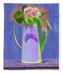 Abstract Floral Art 343 Fleece Blanket
