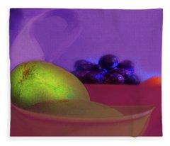 Abstract Fruit Art  109 Fleece Blanket