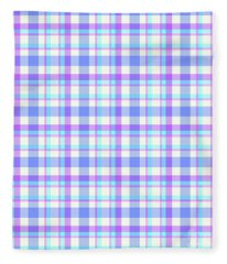 Abstract Squares Background - Dde598 Fleece Blanket