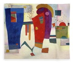 Accompanied Contrast, 1935 Fleece Blanket