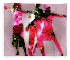 Ad Fashion Fleece Blanket