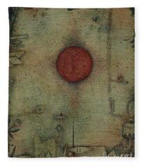 Ad Marginem, On The Edge, 1930 Fleece Blanket