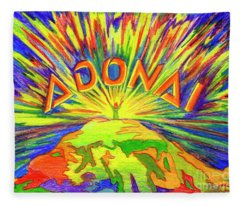 Adonai Fleece Blanket
