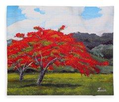 Adorning Nature Fleece Blanket